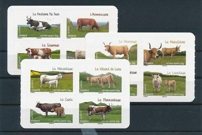 [92792] France Farm Animals good set Very Fine Adhesive stamps
