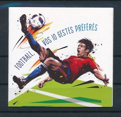 [92798] France Football good complete booklet Very Fine Adhesive