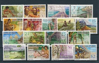 [92979] Papua New Guinea good set Very Fine MNH stamps