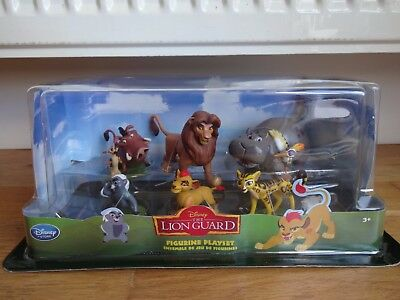 Disney Store The Lion Guard Set of Figures NEW