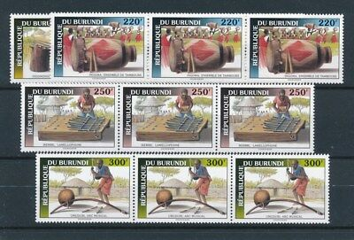 [93018] Burundi 1993 3x good set Very Fine MNH stamps