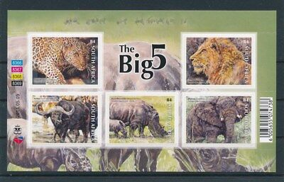 [93070] South Africa Fauna good sheet Very Fine Adhesive