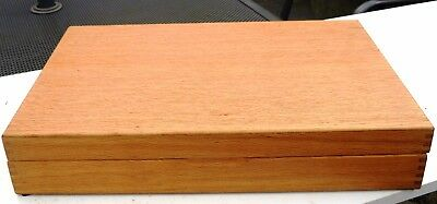 Wooden Cutlery Box Viners