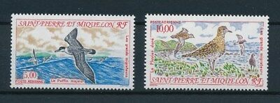 [93706] SPM 1993 Birds good set Very Fine MNH Airmail stamps