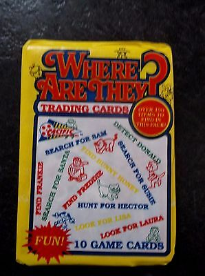 Vintage PACIFIC Trading Cards. WHERE ARE THEY .One Sealed/Unopened Wax Pack 1992