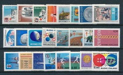 [93772] Finland good lot Very Fine MNH stamps