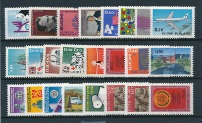 [93773] Finland good lot Very Fine MNH stamps