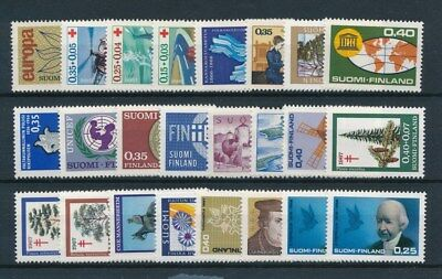 [93776] Finland good lot Very Fine MNH stamps