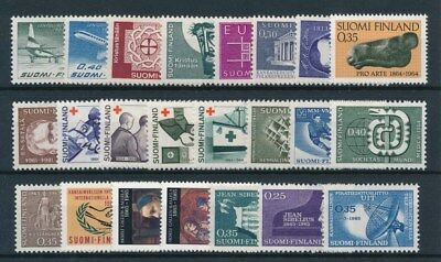 [93777] Finland good lot Very Fine MNH stamps