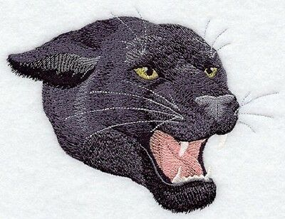 Embroidered Fleece Jacket - Black Panther A9398 Sizes S - XXL