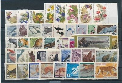 [G92145] Russia Fauna/Flora good lot Very Fine MNH stamps