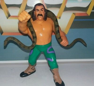 1990'S Retro WWF Hasbro wrestling figure JAKE THE SNAKE COMBINED POSTAGE