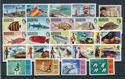 [G92211] Barbuda good lot Very Fine MNH stamps