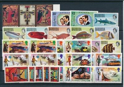 [G92220] Barbuda good lot Very Fine MNH stamps