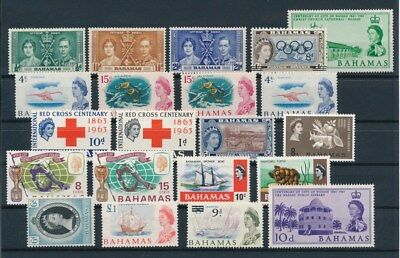 [G92271] Bahamas good lot Very Fine MNH stamps