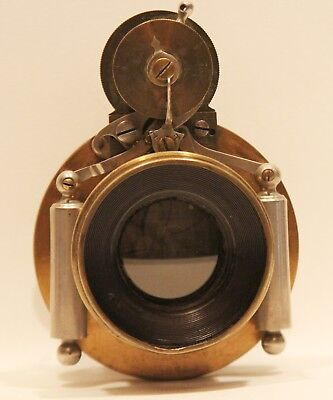 Antique Large Format Camera Lens by Bausch & Lomb Pat. 1892