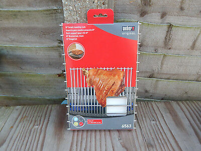 Weber Original Stainless Steel Small Roasting Rack 6563 -GRILL BBQ-