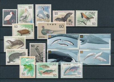 [G93116] World Fauna good lot Very Fine MNH stamps