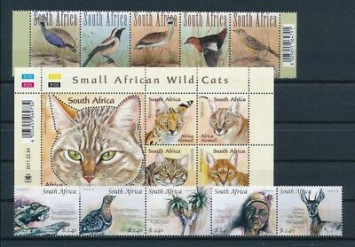 [G93247] South Africa good lot Very Fine MNH stamps