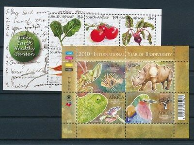 [G93250] South Africa Fauna/Vegetables 2 good sheets Very Fine MNH