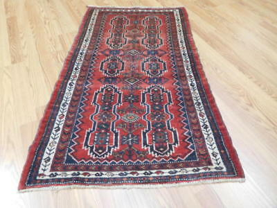 Ca1930 VGDY ANTIQUE PERSIAN KURDISH BIJAR VISS SERAPI 2.3x4 ESTATE SALE RUG