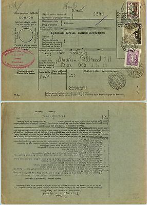 Lithuania, 1928, receipt, used. d5374