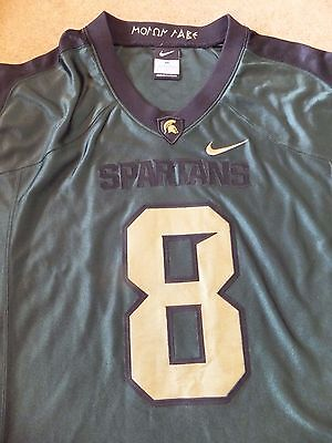 Nike Michigan State Spartans Football Jersey 2011 Adult M Shirt NFL College