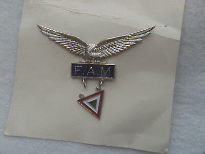 Unknown Mexican AF Wing / Badge