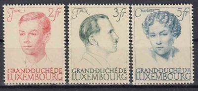 ♠ Luxembourg 1939 # 330/32 Y&t Serie Neuve ** / Mnh 60 €