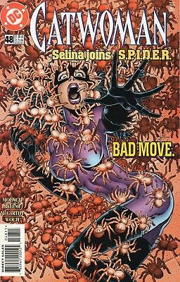 Catwoman #48 (NM)`97 Moench/ Balent