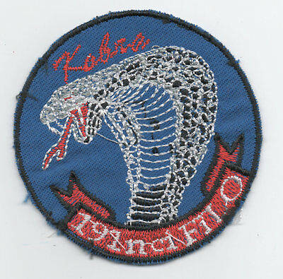 Turkish Air Force 191 Filo Kobra patch, white variant, F-16