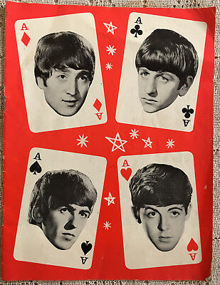 1964 The Beatles Mary Wells Four Aces Tour Programme (UK) Brian Epstein