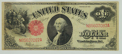 1917 Series $1 One Dollar United States Note You Grade It F-39 K37