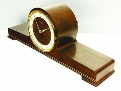 Art Deco Westminster Chiming Mantel Clock From Kienzle