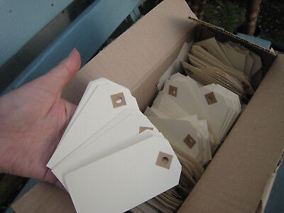 100's of vintage ivory manilla tags luggage style labels ideal crafting wedding
