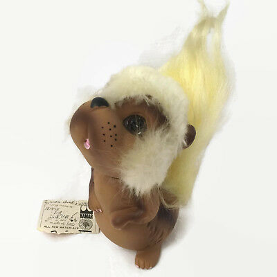 Vtg 1969 KAMAR SQUIRREL Pepper Another WILD THING Tan Furry Tail w TAG JAPAN