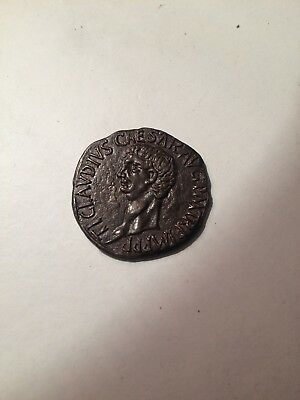 Clavdio 10 A.c - 54 D.c Roman Coin - Great Condition, Rare.. 99p Start..
