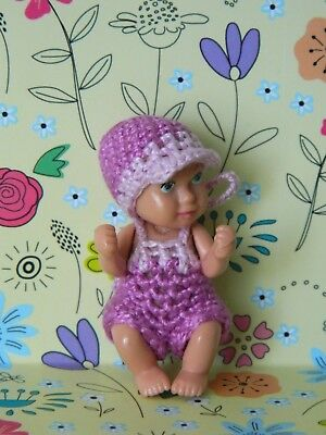 crochet clothes for newborn  1 3/4 baby barbie