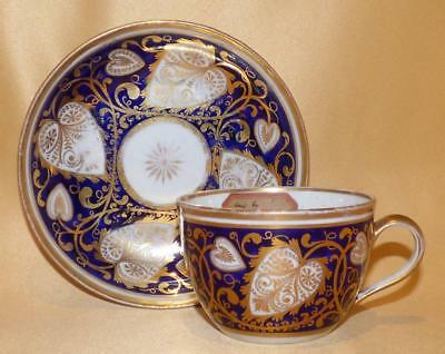 New Hall Cup & Saucer Pattern 565/66 C1800-07