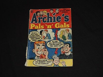 OLD 1953 ARCHIE 'S PALS N GALS #2 COMIC BOOK ARCHIE COMICS  free shipping