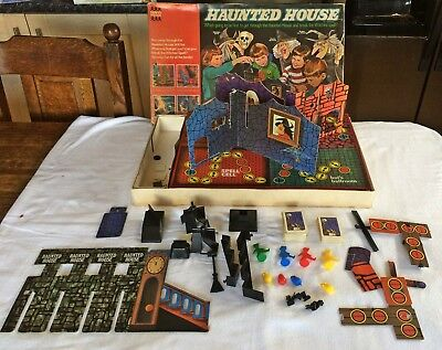 Haunted House - Rare Vintage Board Game By Dennys Fisher -----   Spare Parts