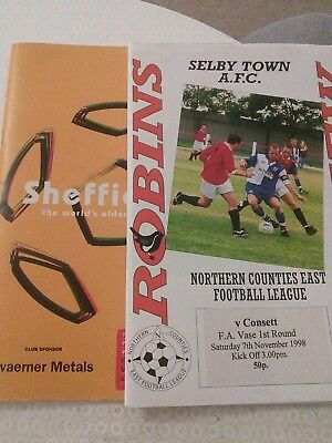 Northern League in the FA Vase 1998/99 X 2
