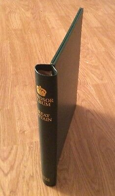 Stanley Gibbons Windsor Popular Spring back Binder Green - RRP £32.95