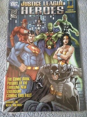 Justice League Heroes Comics Collector's Edition - First Issue - Batman Superman
