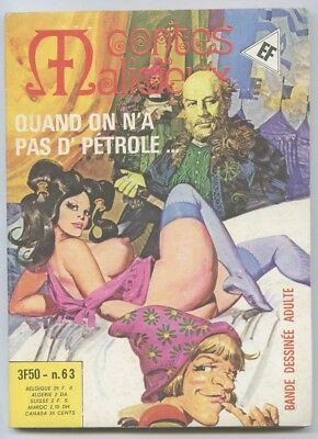 Petit Format – Contes Malicieux  N° 63 – Quand On N'A Pas D'Petrole - 1979