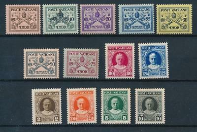 [108350] Vatican 1929 Good set Fine/Very Fine MH stamps