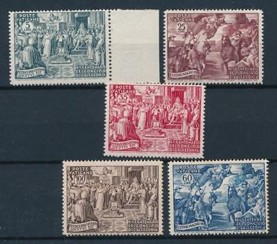 [108384] Vatican 1951 Good set Fine/Very Fine MH stamps