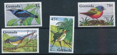 [3631] Grenada birds good set very fine MNH stamps