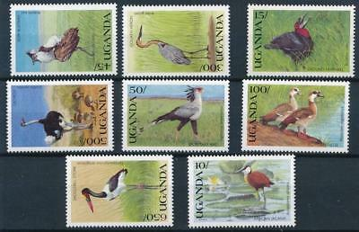 [3635] Uganda birds good set very fine MNH stamps