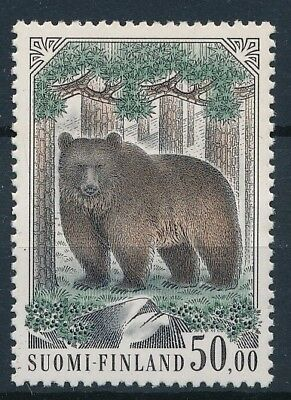 [3648] Finland bear the good stamp very fine MNH